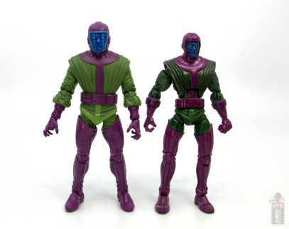 marvel legends kang figure review - with first kang figure