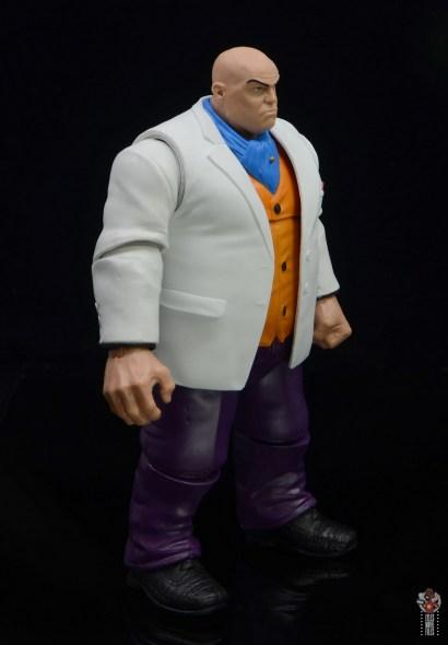 marvel legends retro kingpin figure review -right side