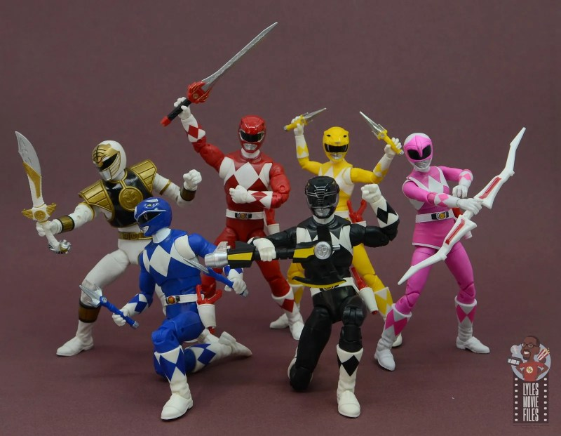 power rangers lightning collection black ranger figure review - power rangers together