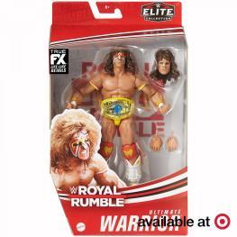 ringside fest 2020 - royal rumble ultimate warrior -package front