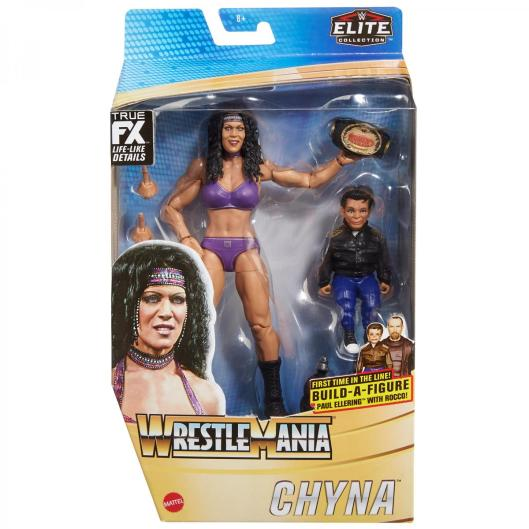 ringside fest 2020 - wrestlemania elite collection - chyna -package front
