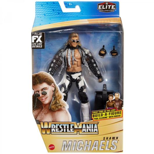 ringside fest 2020 - wrestlemania elite collection - shawn michaels -package front