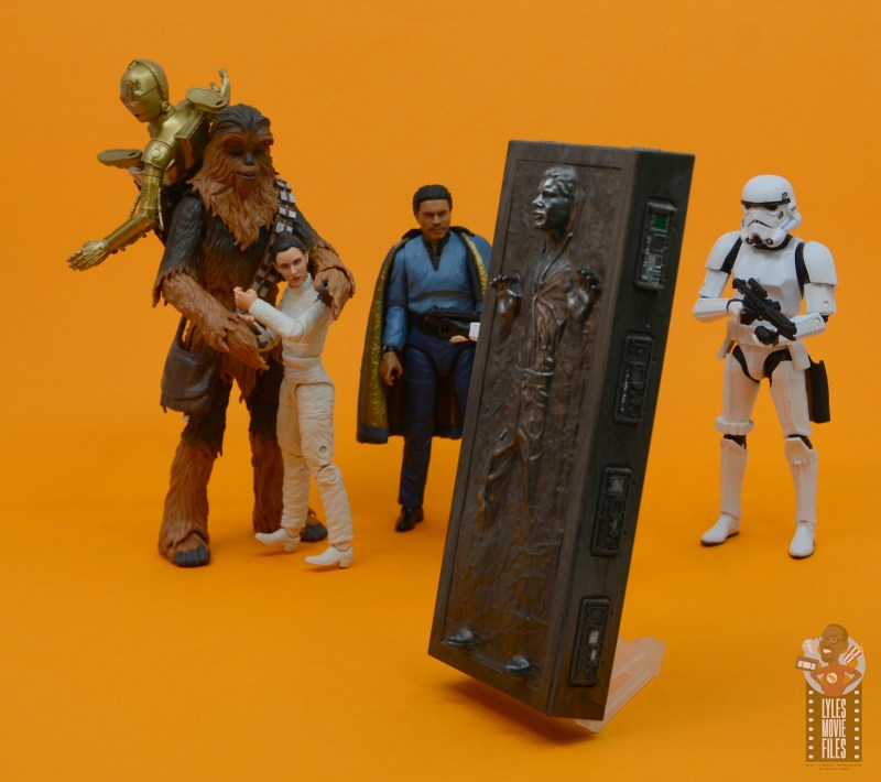 star wars the black series han solo in carbonite figure review - captain solo in carbonite