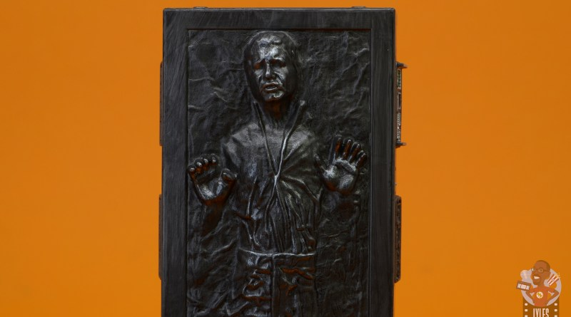 star wars the black series han solo in carbonite figure review - main pic