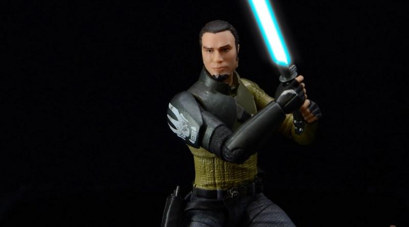 star wars the black series kanan jarrus figure review - main image saber