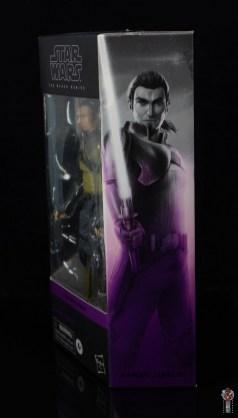 star wars the black series kanan jarrus figure review - package side