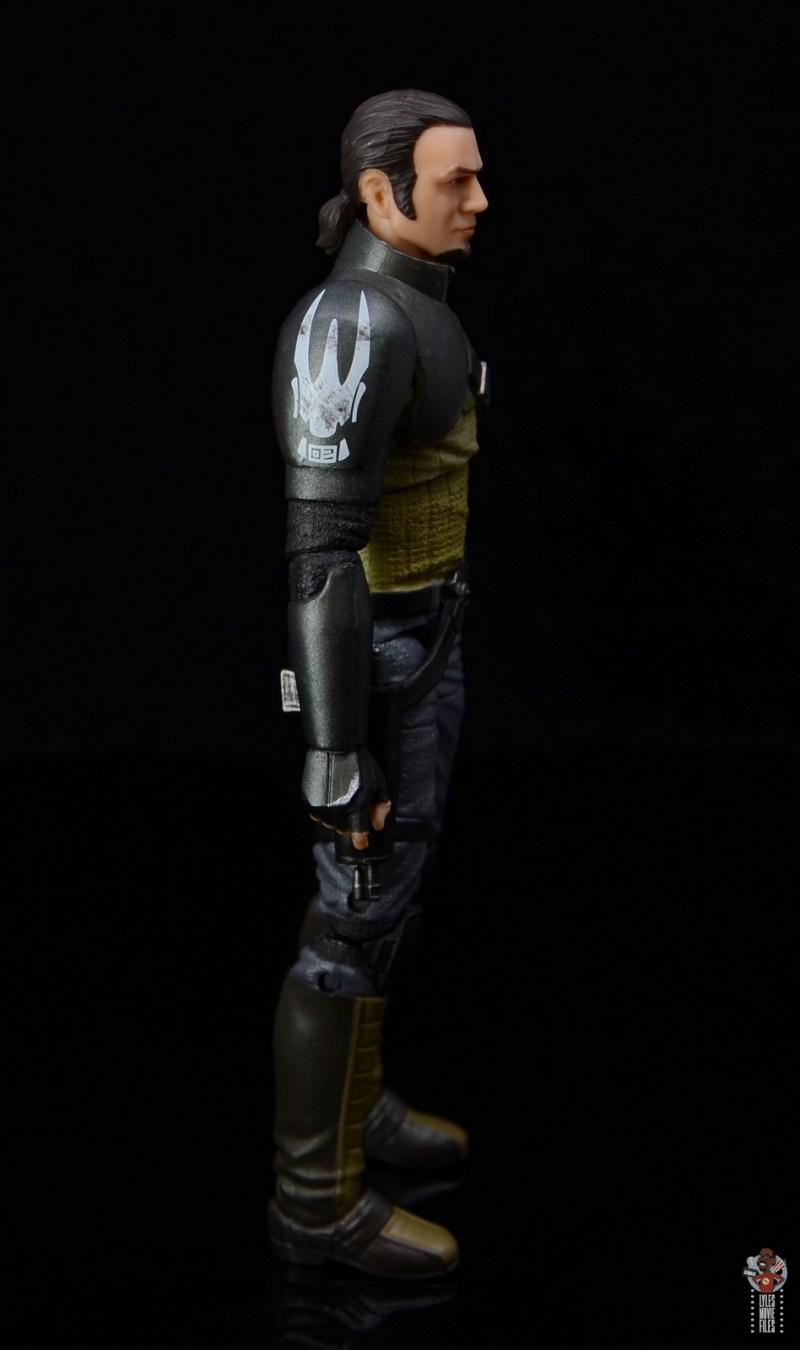 star wars the black series kanan jarrus figure review - shoulder pad detail