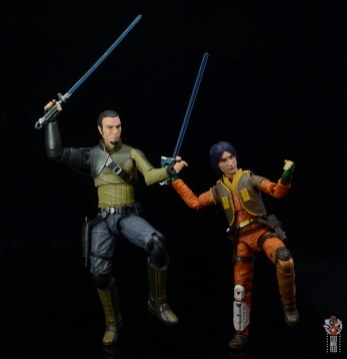 star wars the black series kanan jarrus figure review - training ezra