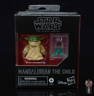 star wars the black series the child figure review - package front