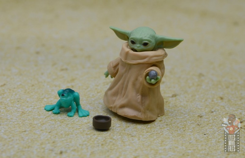 star wars the black series the child figure review - with accessories