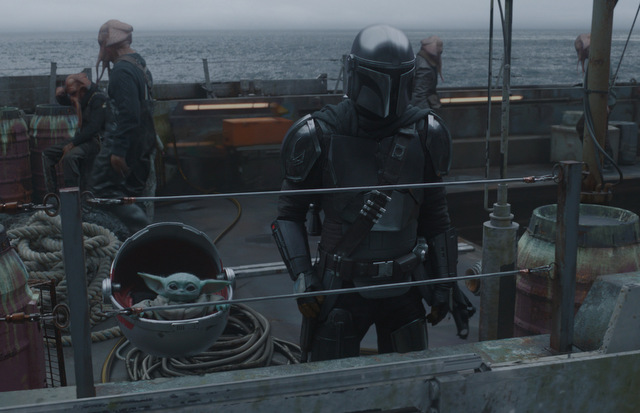 the-mandalorian-the-heiress-review-the-child-and-mando-on-the-boat