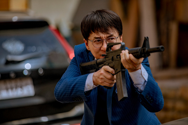 vanguard movie review - jackie chan