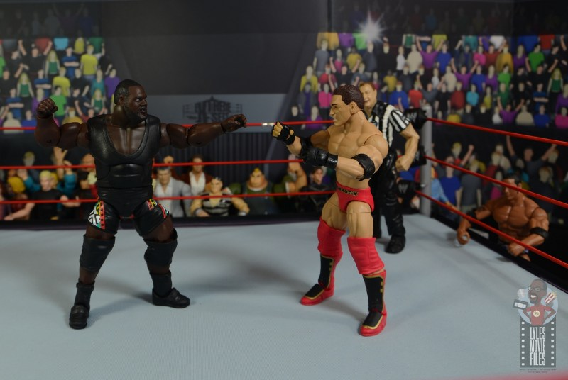 wwe decade of destruction mark henry figure review - face off with ken shamrock