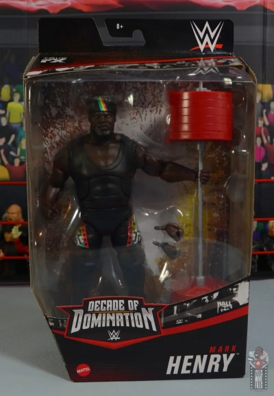 wwe decade of destruction mark henry figure review -package front