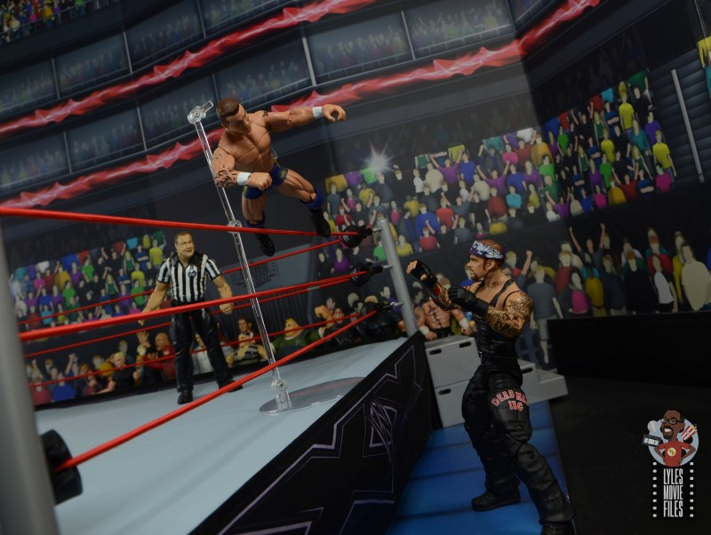 wwe decade of domination randy orton figure review - dive onto undertaker