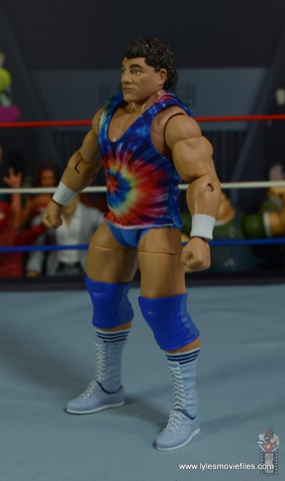 wwe elite don muraco figure review - left side
