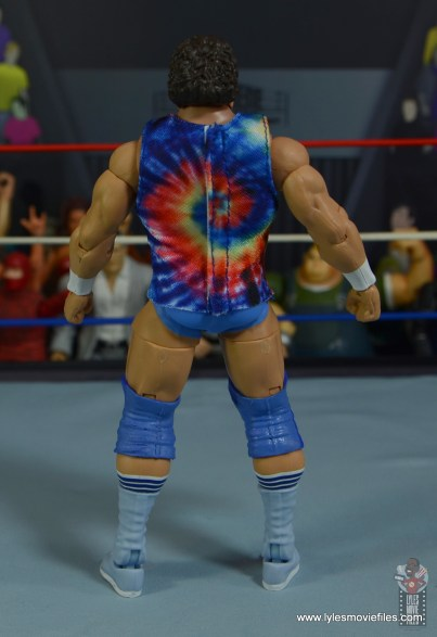 wwe elite don muraco figure review - rear