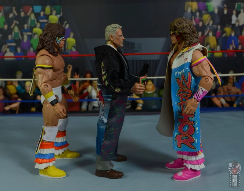 wwe legends series 8 ultimate warrior figure review -facing other ultimate warriors