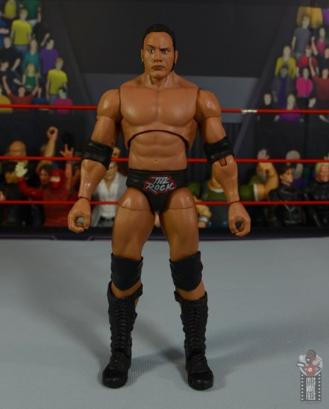 wwe ultimate edition the rock figure review - front