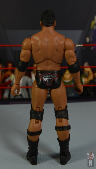 wwe ultimate edition the rock figure review - rear