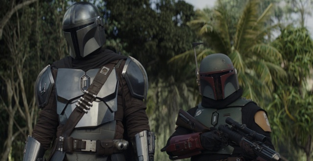 The mandalorian - the believer - Mando and Boba Fett
