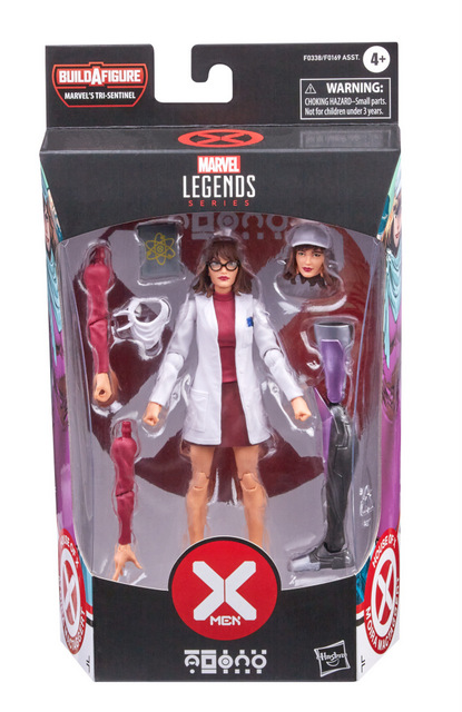 MARVEL LEGENDS SERIES 6-INCH X-MEN HOUSE OF X POWERS OF X Figure Assortment - Moira MacTaggert (in pck)