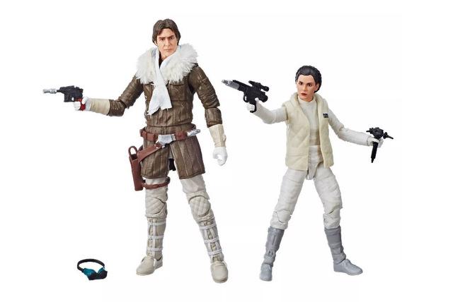 Star Wars The Black Series Han Solo And Princess Leia Organa Hascon Exclusive