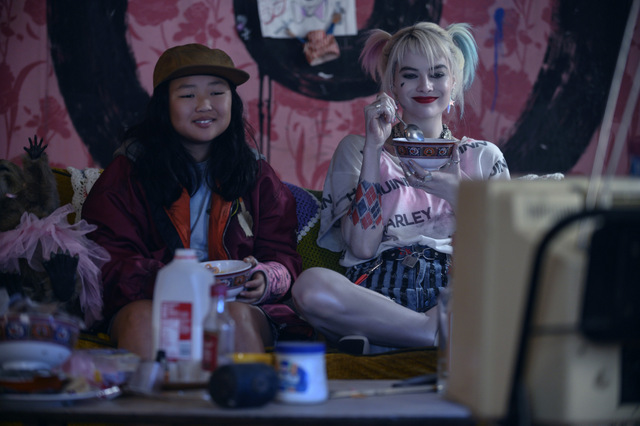 birds of prey and the fantabulous emancipation of one harley quinn review - cassandra and harley