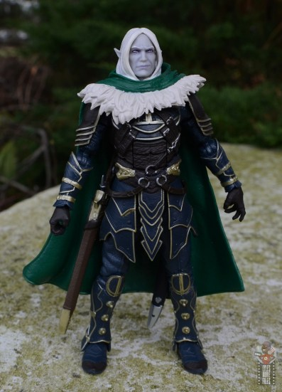 dungeons and dragons drizzt and guenhwyvar figure review - front