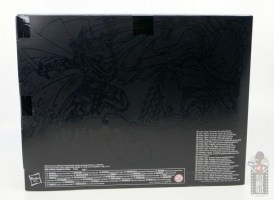 dungeons and dragons drizzt and guenhwyvar figure review - package rear