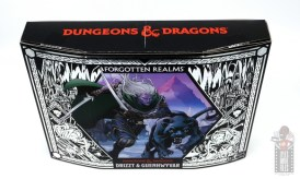 dungeons and dragons drizzt and guenhwyvar figure review - package top