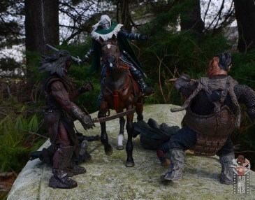 dungeons and dragons drizzt and guenhwyvar figure review - riding into action
