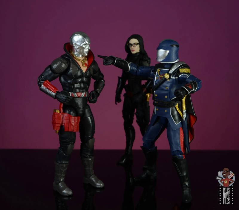 gi joe classified series cobra commander figure review - chewing out destro