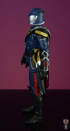 gi joe classified series cobra commander figure review - left detail