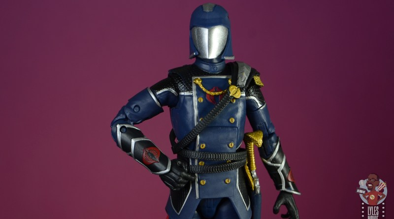 gi joe classified series cobra commander figure review - main pic