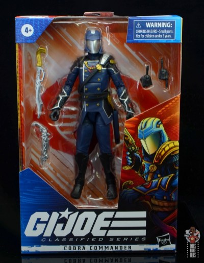 gi joe classified series cobra commander figure review - package front