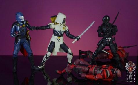 gi joe classified series cobra commander figure review - storm shadow is last line of defense