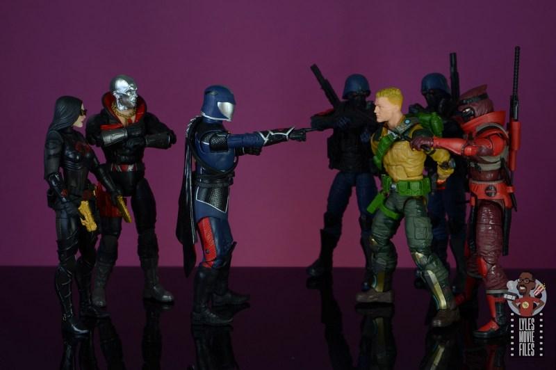 gi joe classified series cobra commander figure review - taunting duke