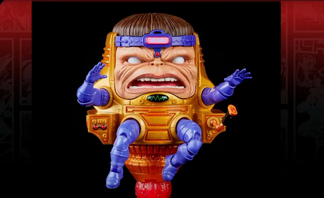 hasbro fan first friday -marvel legends modok close up