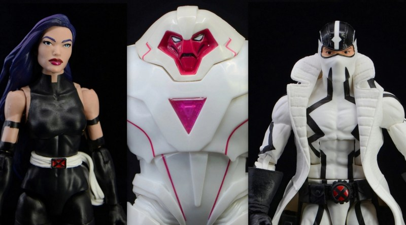marvel legends nimrod, psylocke and fantomex figure review