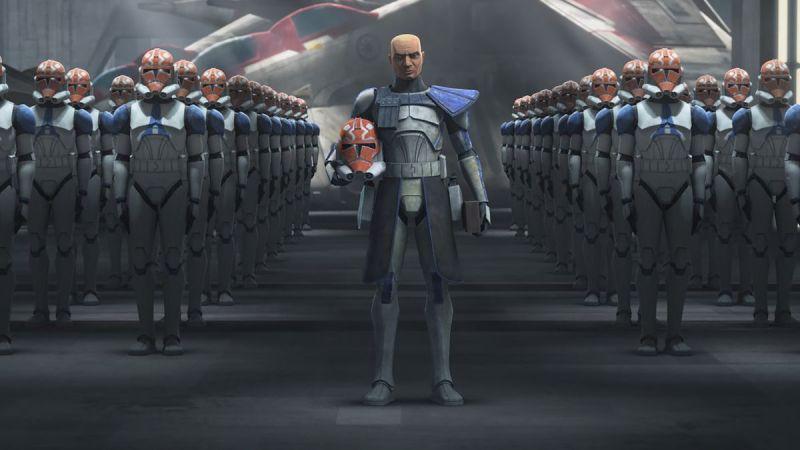 star wars clone wars season 7 - commander rex and clones