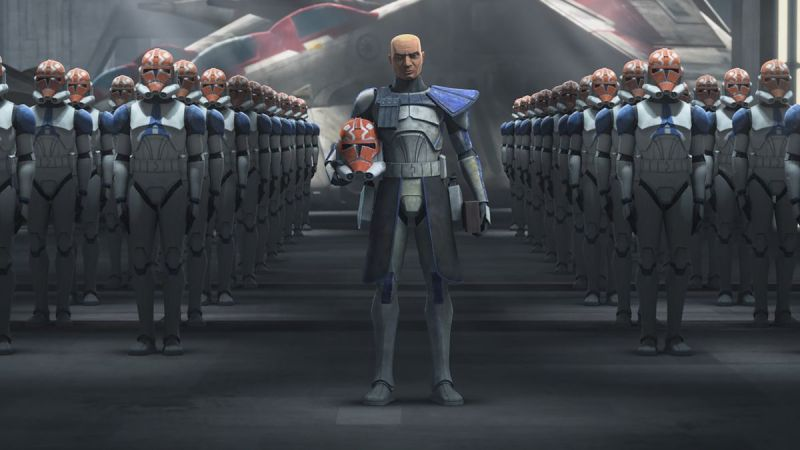 star wars clone wars season 7 - commander rex and clones