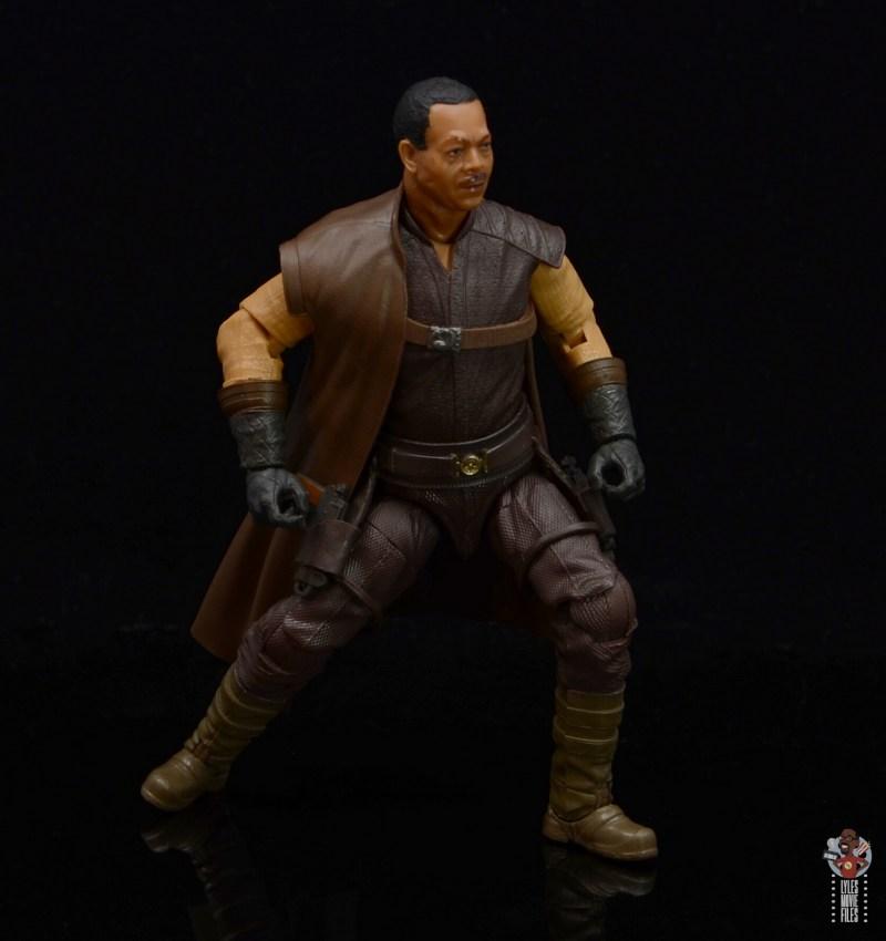 star wars the black series greef karga figure review - crouching