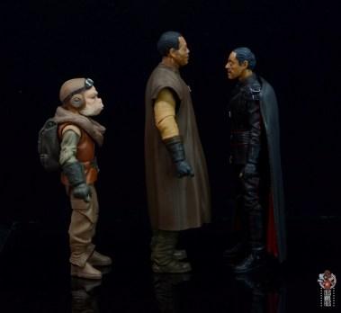 star wars the black series greef karga figure review - facing kuiil and moff gideon