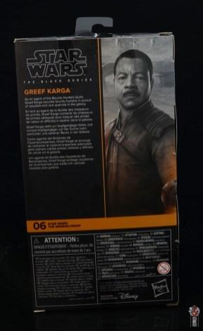 star wars the black series greef karga figure review - package rear