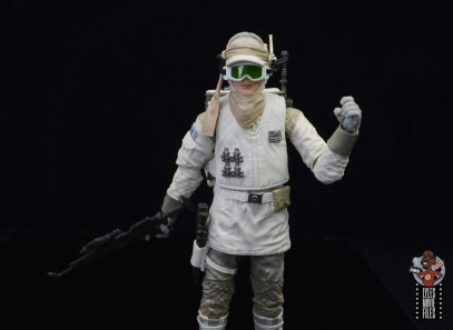 star wars the black series hoth trooper figure review - goggles down