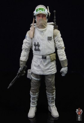 star wars the black series hoth trooper figure review - masked up front