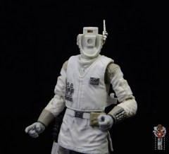 star wars the black series hoth trooper figure review - no face plate