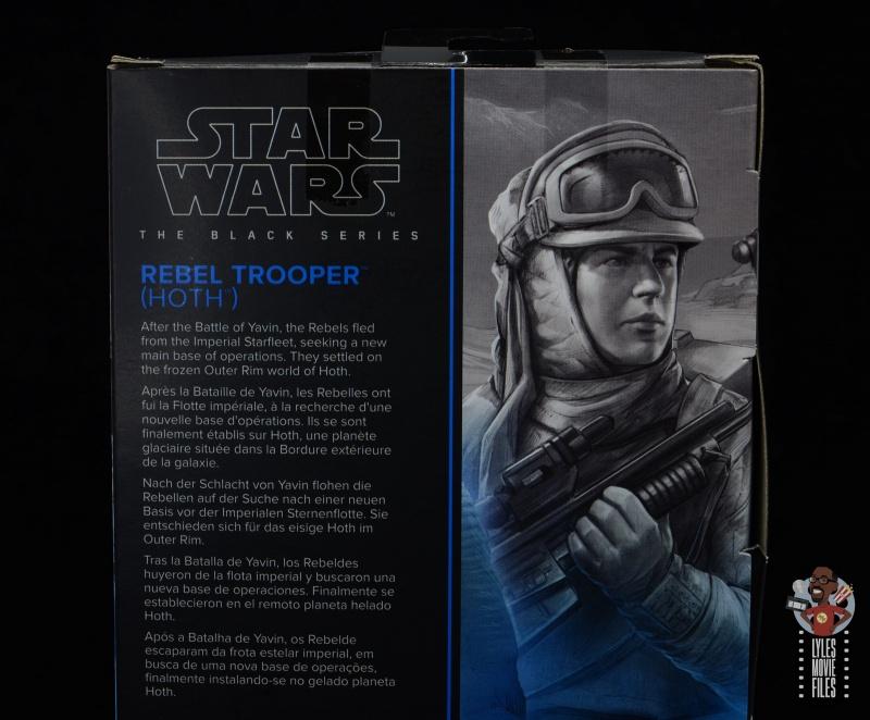 star wars the black series hoth trooper figure review - package bio