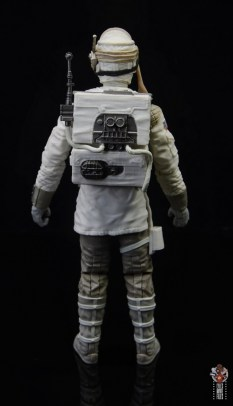 star wars the black series hoth trooper figure review - rear